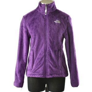 North Face Osito Jacket Fleece Purple Size Small